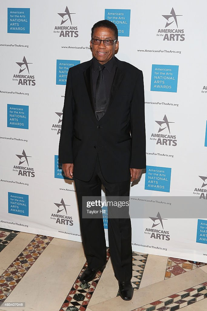 Herbie Hancock attends the 2015 National Arts Awards at Cipriani 42nd Street on October 19, 2015 in New York City.