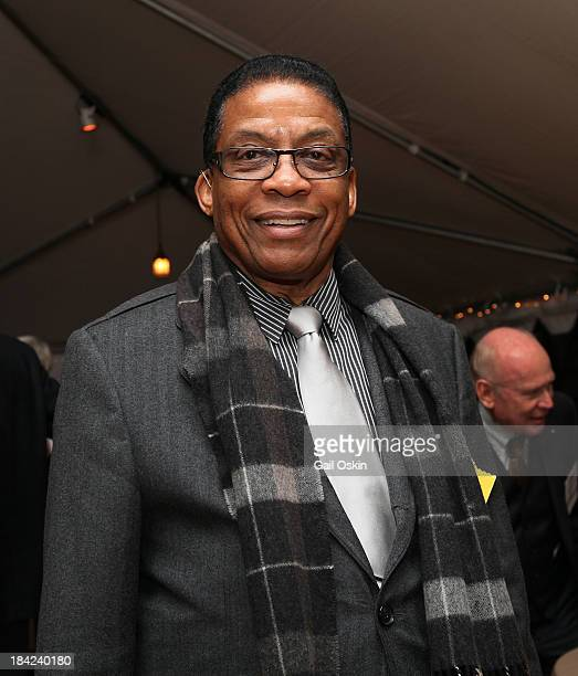 Herbie Hancock attends the American Academy of Arts and Sciences Induction Ceremony 2013 reception at the American Academy of Arts and Sciences on...