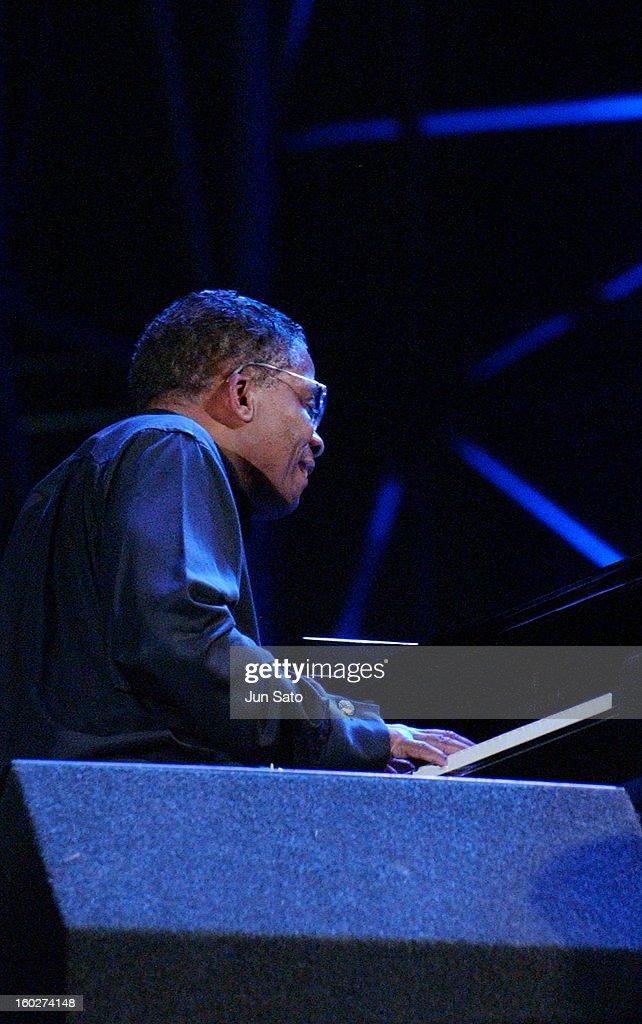 Herbie Hancock during Tokyo Jazz 2004 - Future World at Tokyo Big Sight in Tokyo, Japan.