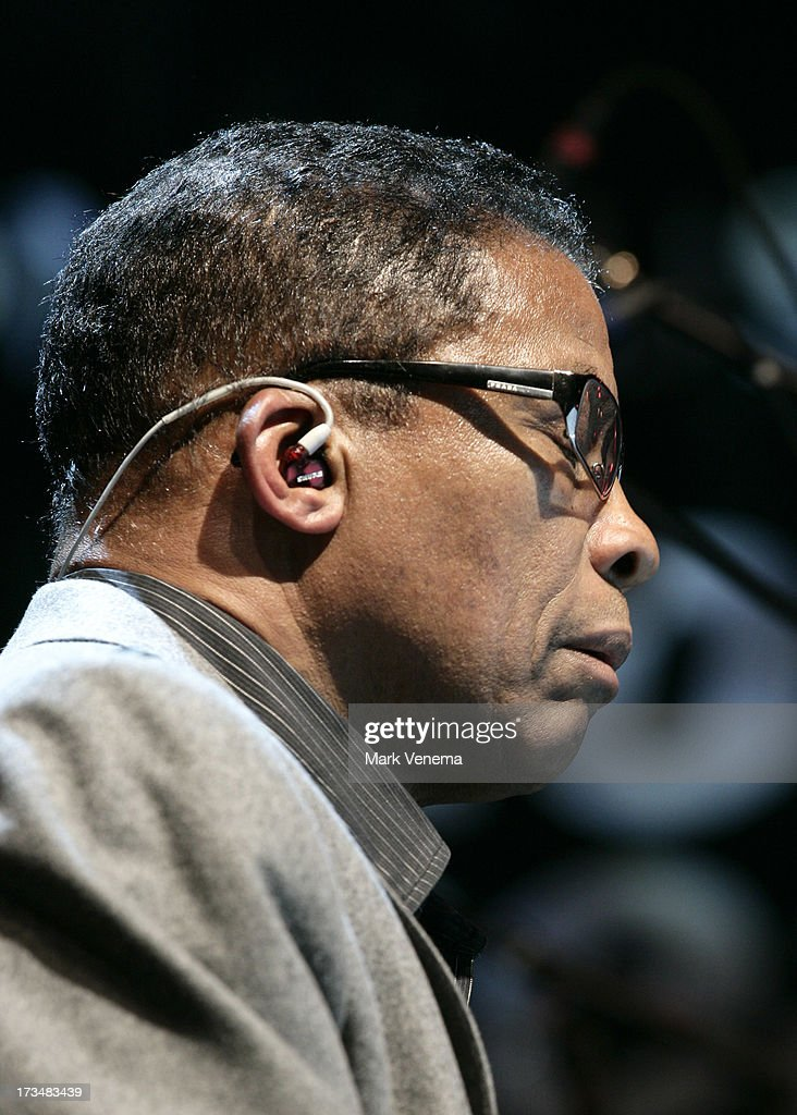<a gi-track='captionPersonalityLinkClicked' href=/galleries/search?phrase=Herbie+Hancock&family=editorial&specificpeople=214131 ng-click='$event.stopPropagation()'>Herbie Hancock</a> performs at Day 3 of the North Sea Jazz Festival at Ahoy on July 14, 2013 in Rotterdam, Netherlands.