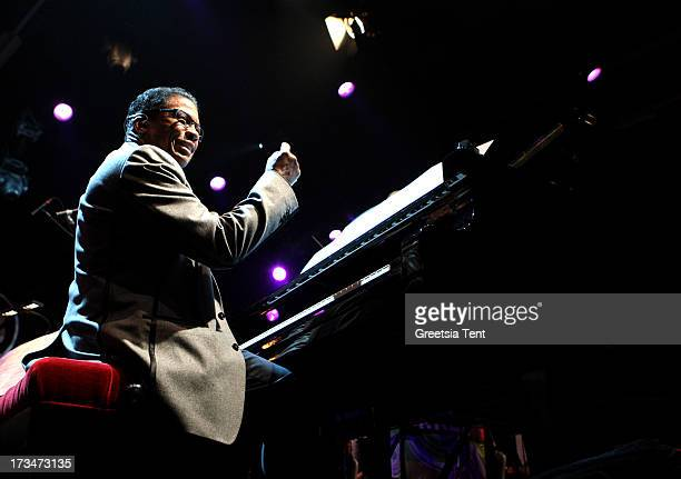 Herbie Hancock performs at day three of the North Sea Jazz Festival at Ahoy on July 14 2013 in Rotterdam Netherlands