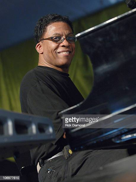 Herbie Hancock Quartet during 37th Annual New Orleans Jazz Heritage Festival Presented by Shell Herbie Hancock Quartet April 29 2006 at New Orleans...