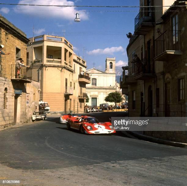 Herbie Muller driving a Ferrari 512S at Targa Florio 6th