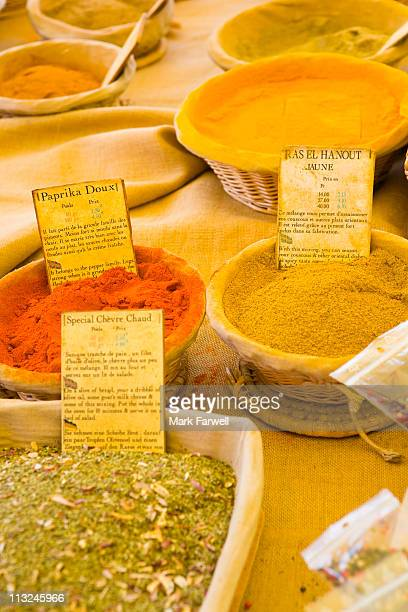 Herbs and spices in Provence