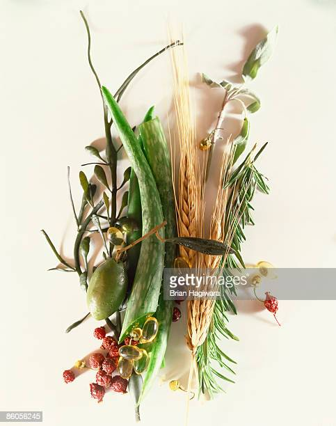 Herbs and vitamins