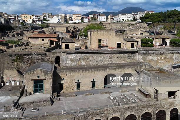 Herculaneum and ercolano