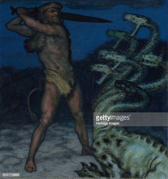Hercules and Hydra Found in the collection of Museum Villa Stuck