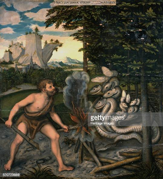 Hercules and the Lernaean Hydra Found in the collection of Herzog Anton Ulrich Museum Braunschweig
