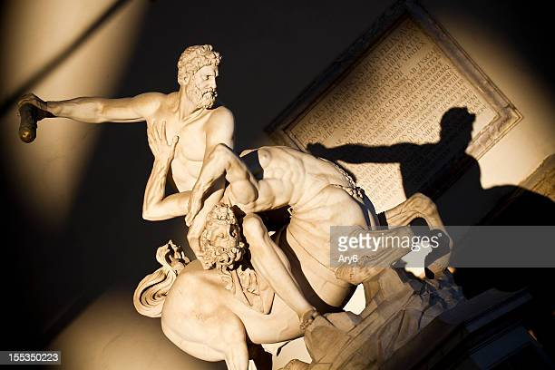 Hercules beating the Centaur Nessus in Florence