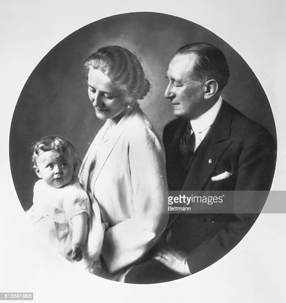 Here is the newest portrait of Senator Guglielmo Marconi famous Italian wireless inventor Signora Marconi and their lovely child Elettra named after...