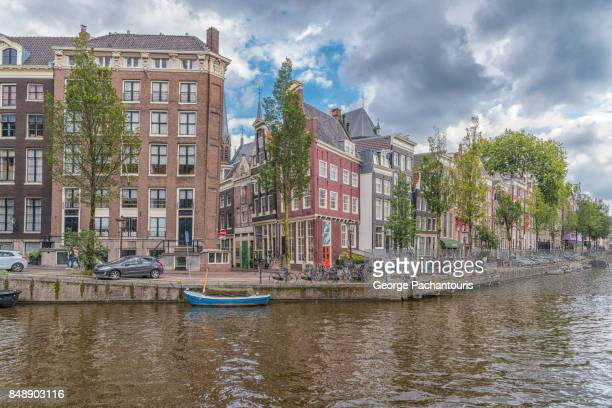 Herengracht canal in Amsterdam, Netherlands
