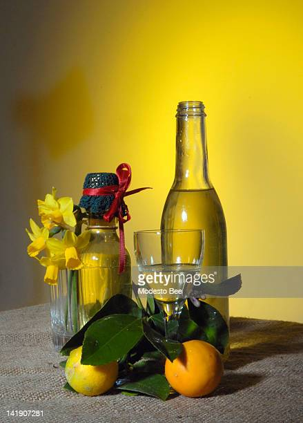 Here's to life handing you lemons — lots of them With vodka and sugar you've got the makings of limoncello — and an excuse for a gettogether