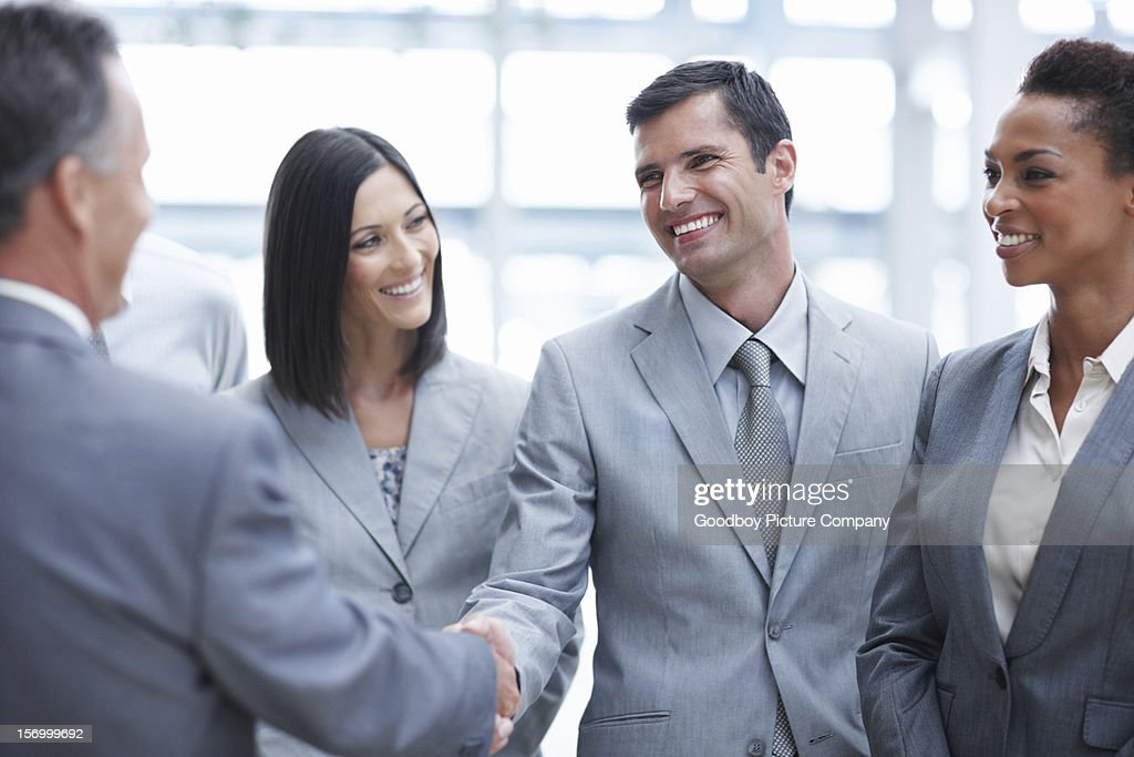 Here's to our success! : Stock Photo