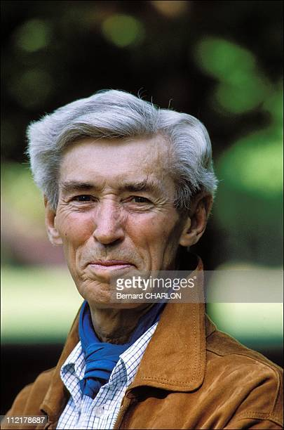 Herge poses for a portrait on May 131982 in BrusselsBelgium