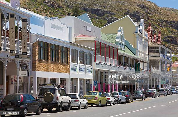 Heritage buildings at Simons Town, Western Cape, South Africa