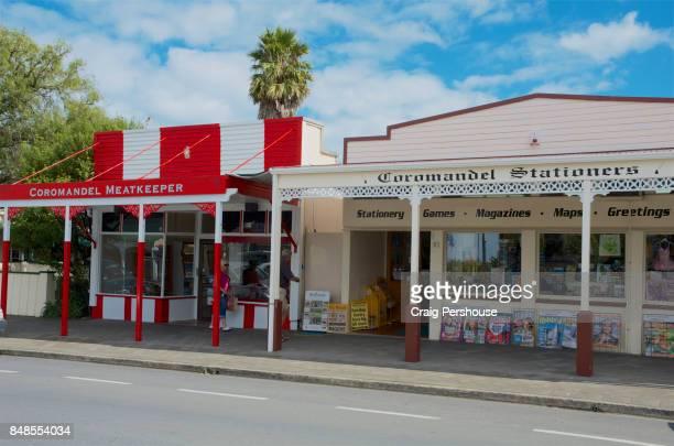 Heritage shops on Kapanga Road.