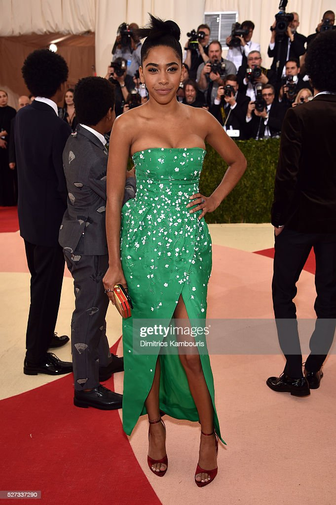 Herizen F. Guardiola attends the 'Manus x Machina: Fashion In An Age Of Technology' Costume Institute Gala at Metropolitan Museum of Art on May 2, 2016 in New York City.