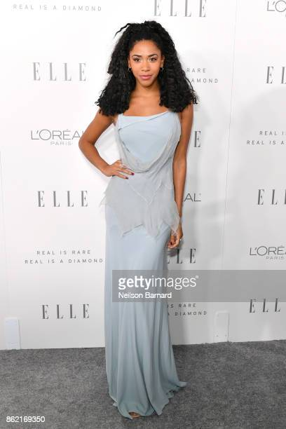 Herizen Guardiola attends ELLE's 24th Annual Women in Hollywood Celebration presented by L'Oreal Paris Real Is Rare Real Is A Diamond and CALVIN...