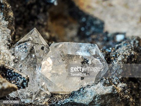 Herkimer Diamond : Stock Photo