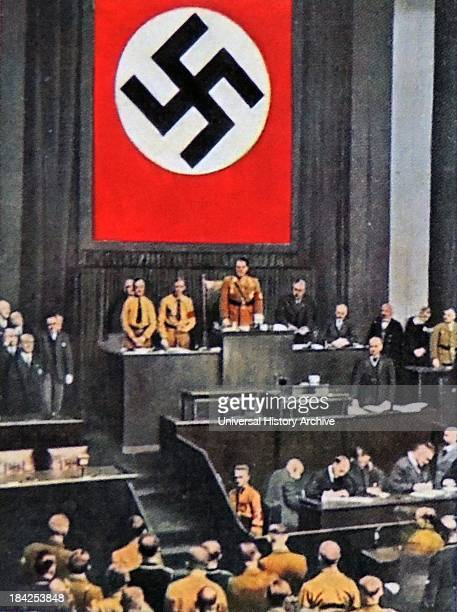 Herman Goring presides over the Reichstag in 1934