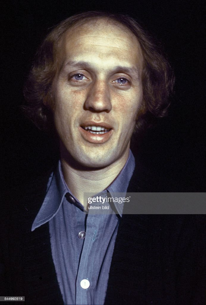 Herman van Veen Singer Entertainer Musician Netherlands 1977