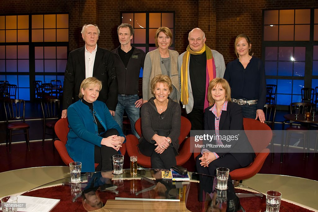 Herman van Veen Sven Boettcher Bettina Boettinger Rolf Sachs Silke Bodenbender Hannelore Kraft Mariele Millowitsch and Johanna Gastorf attend the...