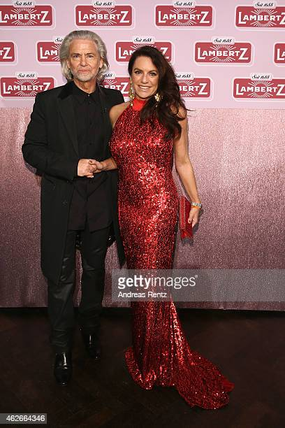 Hermann Buehlbecke and Christine Neubauer attend the Lambertz Monday Night 2015 at Alter Wartesaal on February 2 2015 in Cologne Germany