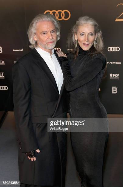 Hermann Buehlbecker and Eveline Hall attend the 24th Opera Gala at Deutsche Oper Berlin on November 4 2017 in Berlin Germany
