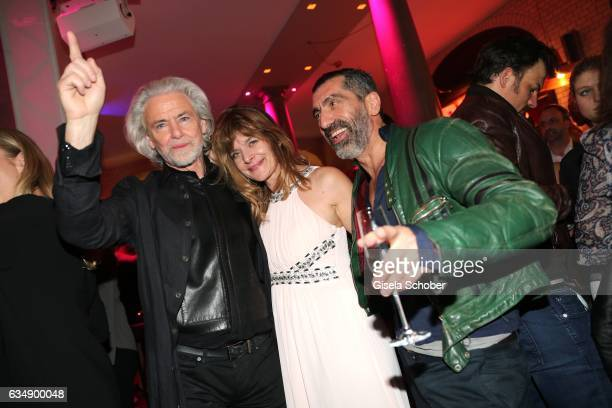 Hermann Buehlbecker and Nastassja Kinski and Erdal Yildiz during the BUNTE BMW Festival Night 2017 during the 67th Berlinale International Film...