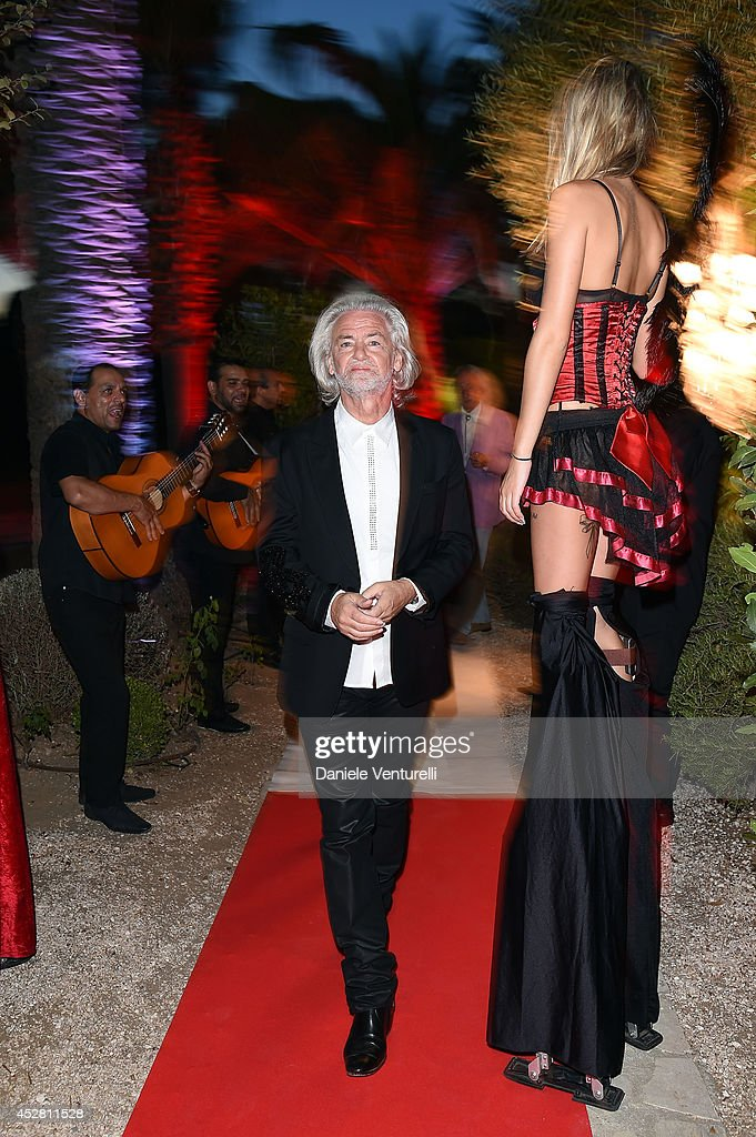Hermann Buhlbecker attends Monika Bacardi Summer Party 2014 St Tropez at Les Moulins de Ramatuelle on July 27, 2014 in Saint-Tropez, France.