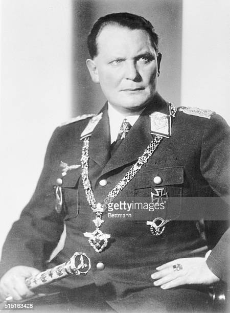 Hermann Goering was one of 24 Nazi leaders tried for World War II war crimes in tribunals held in Nuremberg Germany from October 18 1945 to October 1...