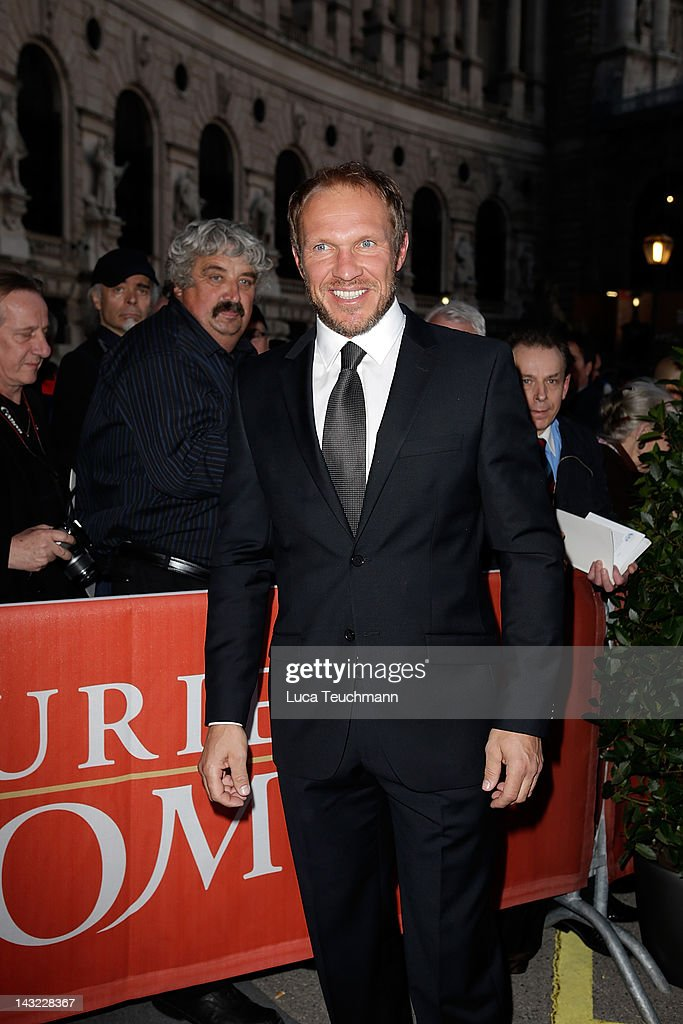 Hermann Maier attends the 23nd KURIER ROMY Gala at the Hofburg on April 16 2011 on April 21 2012 in Vienna Austria