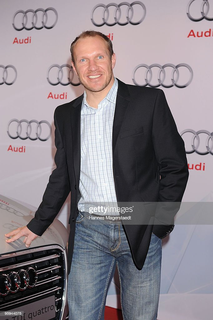 Hermann Maier attends the Audi Night at Hotel 'Zur Tenne' on January 22 2010 in Kitzbuehel Austria
