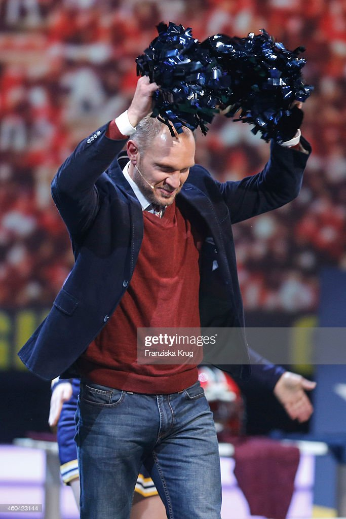 Hermann Maier attends the last broadcast of the 'Wetten dass TV show' on December 13 2014 in Nuremberg Germany