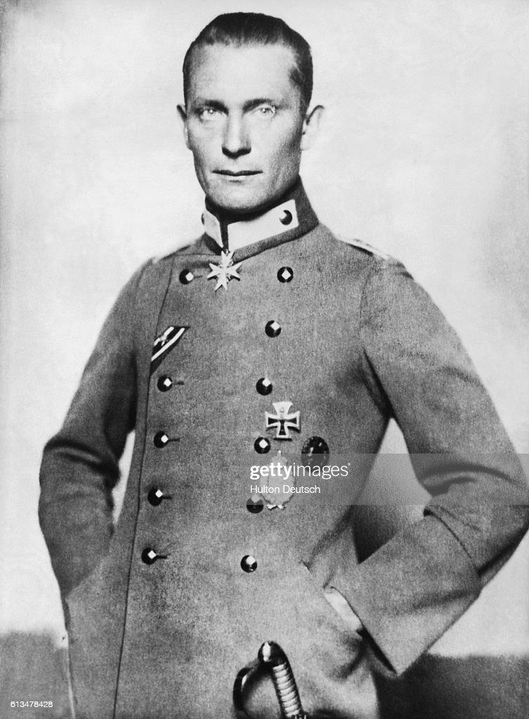 Hermann Wilhelm Goering during World War I.