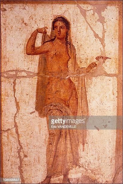 Hermaphrodite in Pompei Italia in April 2001