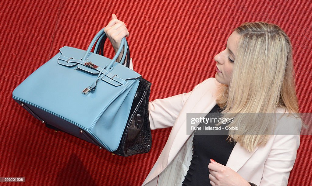 hermes birkin purses - A Hermes Birkin at a pre- auction photo calls for Hermes handbags ...