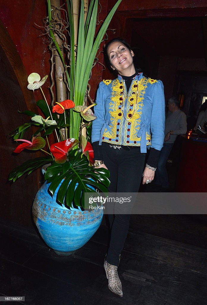Hermine de Clermont-Tonnerre attends the 'Tour 66' Tony Frank's Photo Exhibition Preview at Buddha Bar on February 26, 2013 in Paris, France. .