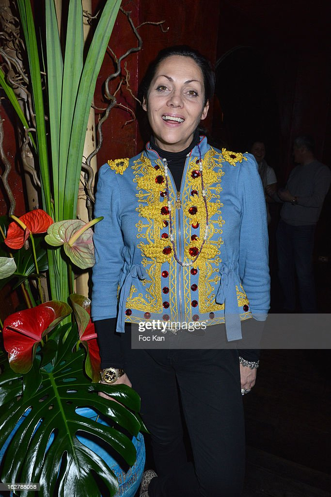Hermine de Clermont-Tonnerre attends the 'Tour 66' Tony Frank's Photo Exhibition Preview at Buddha Bar on February 26, 2013 in Paris, France.