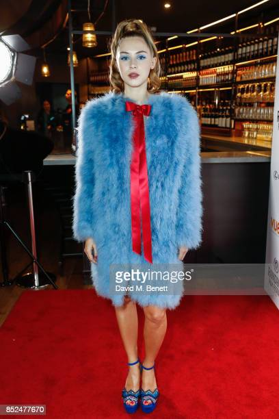 Hermione Corfield attends the 'Bees Make Honey' official screening during the Raindance Film Festival at the Vue West End on September 23 2017 in...