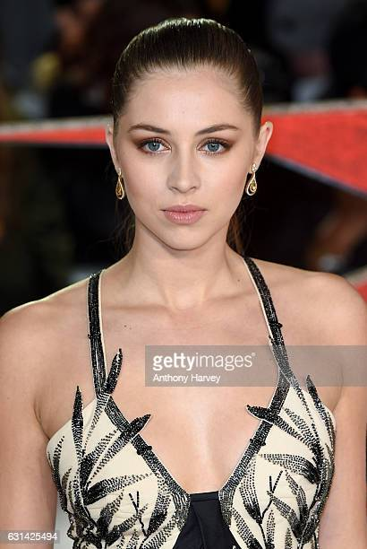 Hermione Corfield attends the European premiere of 'xXx' Return of Xander Cage' on January 10 2017 in London United Kingdom