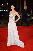 Hermione Corfield attends the red carpet for the European premiere for 'Pride And Prejudice And Zombies' on at Vue West End on February 1 2016 in...