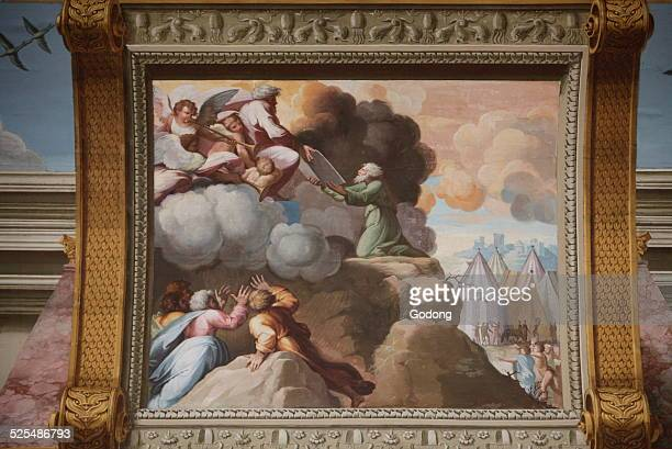 Hermitage Museum The loggia of Raphael Moses Mount Sinai and the Ten Commandments