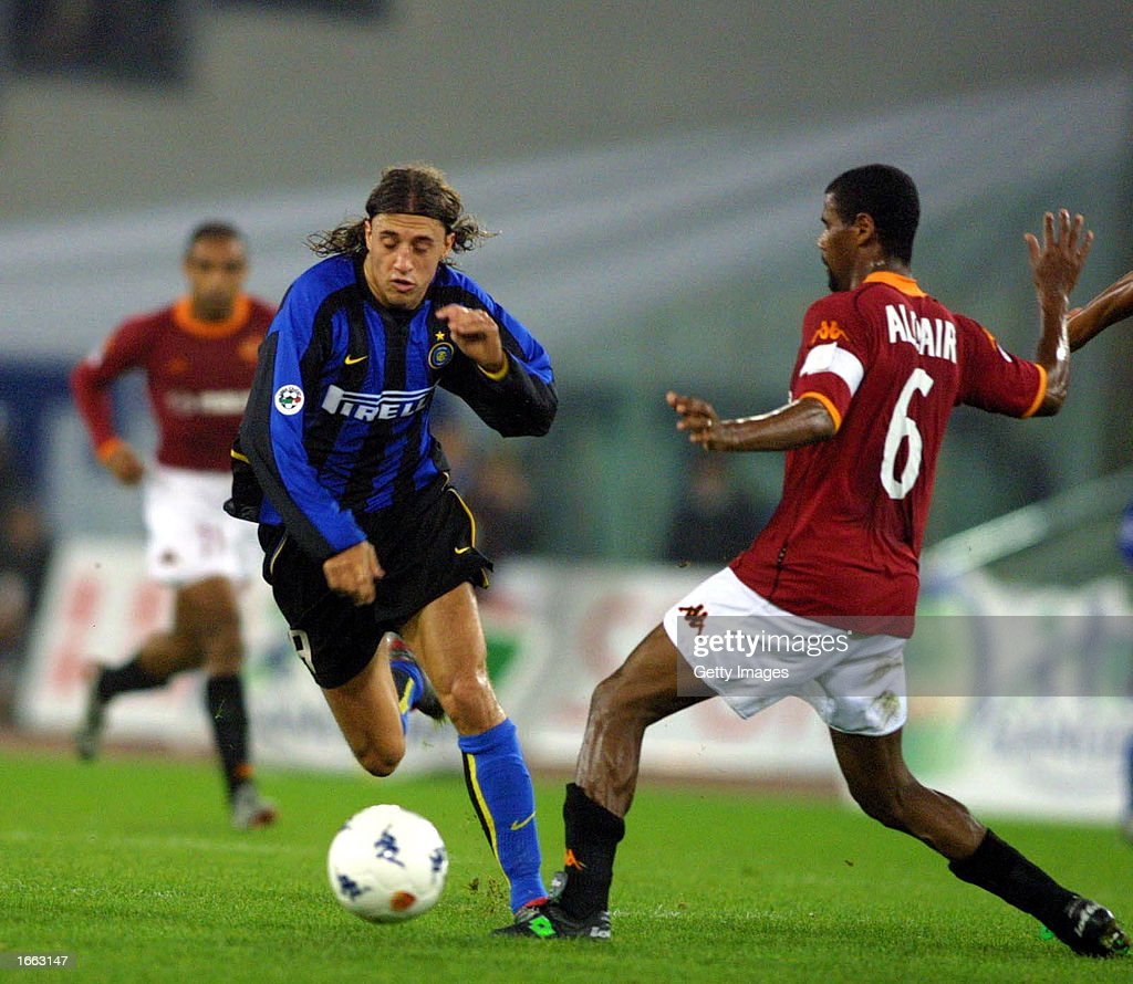 Hernan Crespo of Inter Milan