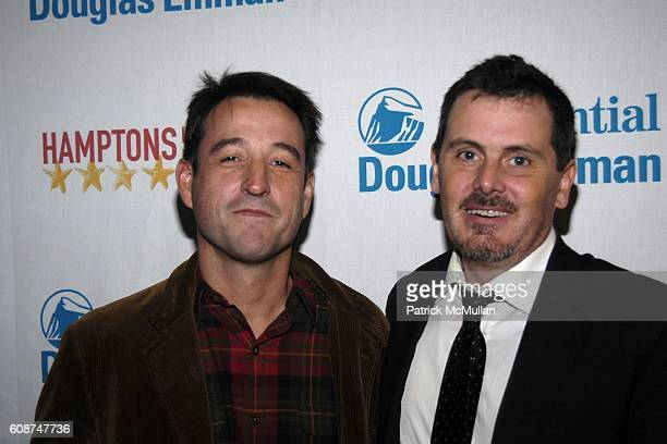 Hernan Otano Cinematographer and Chris Eigeman attend Arrivals TURN THE RIVER at Hamptons International Film Festival on October 19 2007 in United...