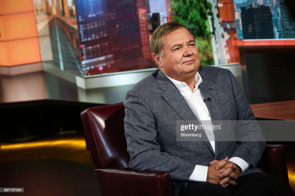 Hernan Rincon, president and chief executive officer of Avianca Holdings SA, listens during a Bloomberg Television interview in New York, U.S., on Tuesday, Aug. 22, 2017. Rincon discussed United Continental Holdings Inc. negotiations and competition in low-cost carriers. Photographer: Christopher Goodney/Bloomberg via Getty Images