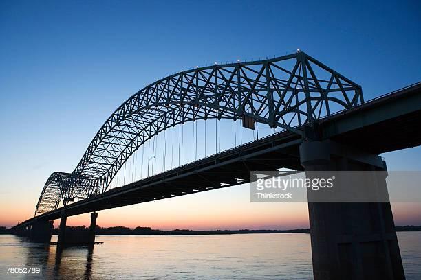 Hernando Desoto Bridge over the Mississippi River, Memphis