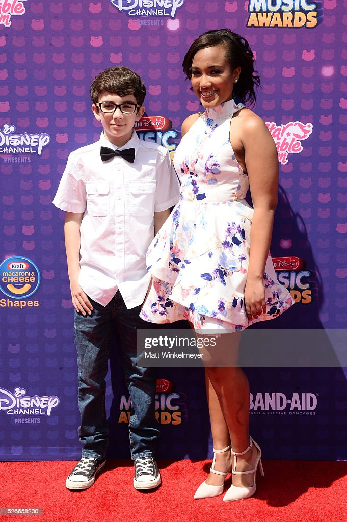 Hero For Change's Braeden Mannering (L) and Whitney Stewart attend the 2016 Radio Disney Music Awards at Microsoft Theater on April 30, 2016 in Los Angeles, California.