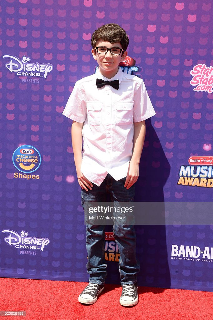 Here For Change's Braeden Mannering attends the 2016 Radio Disney Music Awards at Microsoft Theater on April 30, 2016 in Los Angeles, California.