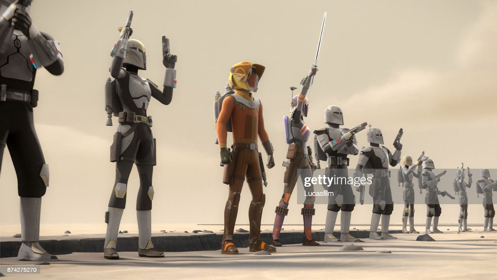 REBELS - 'Heroes of Mandalore' - Sabine leads Ezra, Kanan and an army of her fellow Mandalorians back to her home world to rescue her father from the clutches of the Empire. When she discovers the Empire has resurrected a devastating weapon, she must decide whether to destroy it or use it herself. This episode of Star Wars Rebels airs Monday, October 16 (12:30 - 1:00 A.M. EDT) on Disney XD. EZRA, SABINE